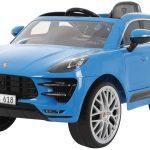 Cette voiture électrique enfant correspond au modèle Porsche Macan.